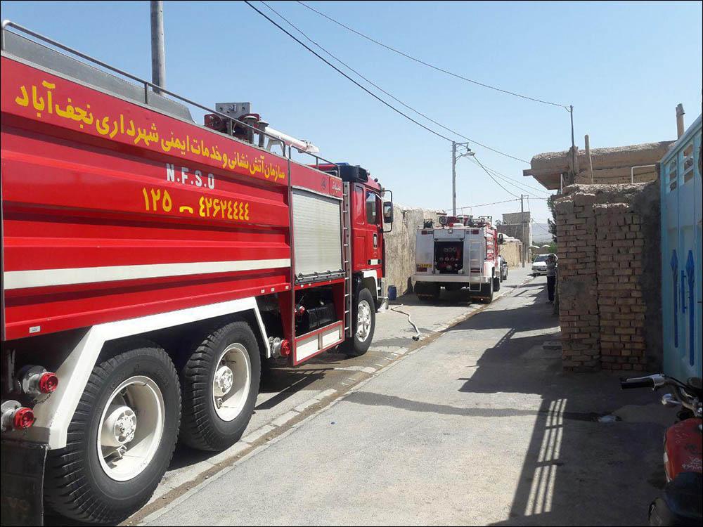 کشته شدن دختر ۲۰ ساله در آتش سوزی