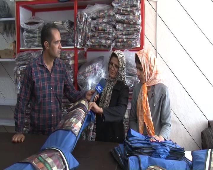 اشتغال زایی زوج معلول برای ۱۴نفر در نجف آباد+تصاویر و فیلم