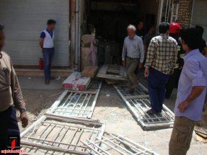 انفجار کپسول گاز آتش در مغازه و مرگ در چاه+ تصاویر ۳حادثه در نجف آباد آتش در مغازه و مرگ در چاه+ تصاویر ۳حادثه در نجف آباد                                2 300x225