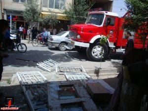 انفجار کپسول گاز آتش در مغازه و مرگ در چاه+ تصاویر ۳حادثه در نجف آباد آتش در مغازه و مرگ در چاه+ تصاویر ۳حادثه در نجف آباد                                3 300x225