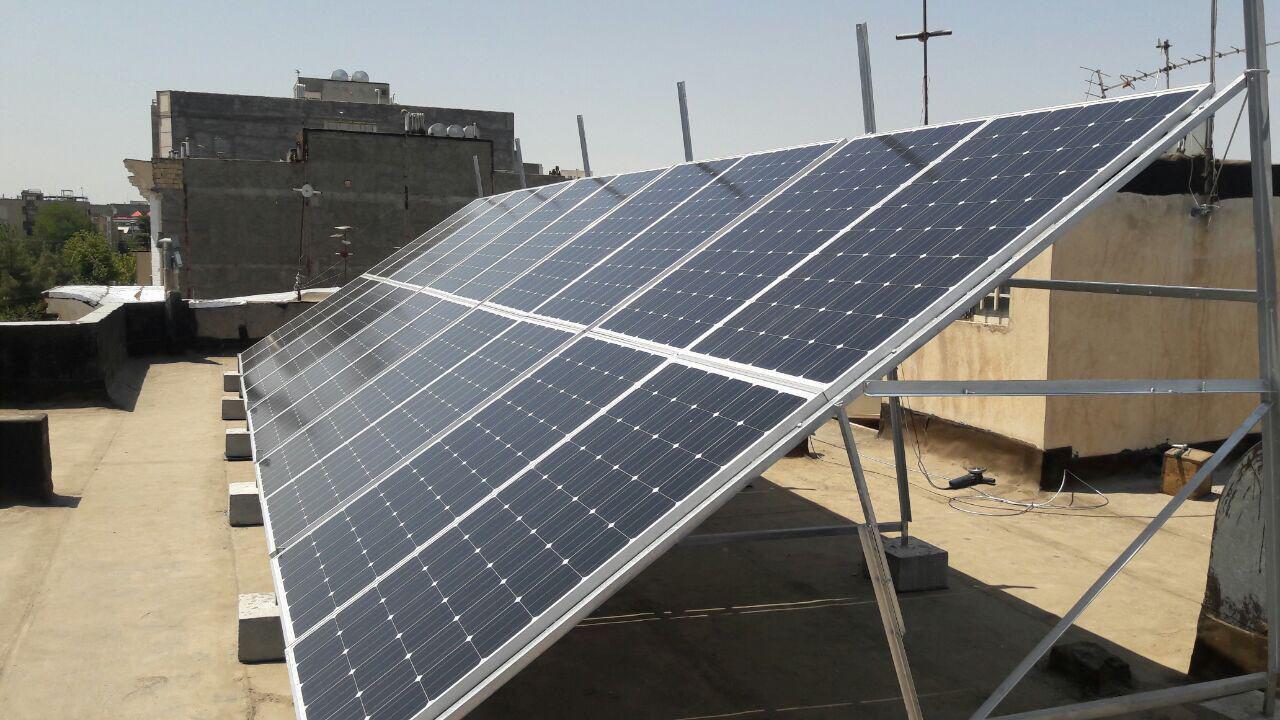 درآمد خورشیدی در نجف آباد+تصاویر