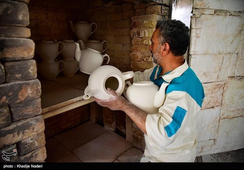 کارگاه تولید قوری در روستای علی آباد زازران کارگاه قوری سازی+تصاویر کارگاه قوری سازی+تصاویر                                                                                 21
