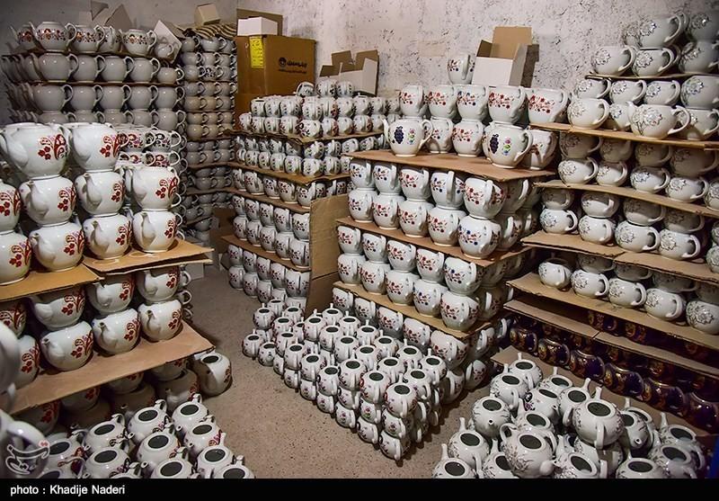کارگاه تولید قوری در روستای علی آباد زازران کارگاه قوری سازی+تصاویر کارگاه قوری سازی+تصاویر                                                                                 6