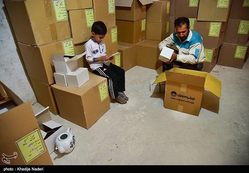 کارگاه تولید قوری در روستای علی آباد زازران کارگاه قوری سازی+تصاویر کارگاه قوری سازی+تصاویر                                                                                 8