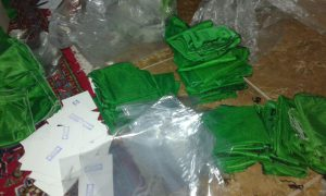 دوخت لباس های ویژه محرم در نجف آباد دوخت ۱۲هزار لباس برای شیرخوارگان حسینی در نجف آباد+تصاویر دوخت ۱۲هزار لباس برای شیرخوارگان حسینی در نجف آباد+تصاویر                                            2 300x180