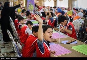 مسابقات چرتکه رقابت ۶۰دانش آموز چرتکه باز در نجف آباد+فیلم رقابت ۶۰دانش آموز چرتکه باز در نجف آباد+فیلم                           300x209