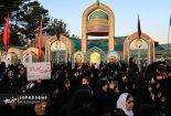 ندبه و سخنرانی در نجف آباد بیاد شهید حججی + فیلم