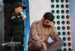 علی حججی مهمان ویژه مراسم پدر/ صف انتظار برای زیارت قبر شهید