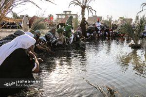 بازسازی غدیر در یزدانشهر+ تصاویر بازسازی غدیر در یزدانشهر+ تصاویر                                                          11 300x200
