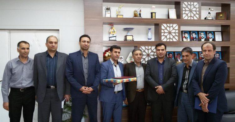 تودیع مدیر ورزش نجف آباد پس از یک دهه+ تصاویر
