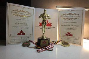 جوایز سید علی موسوی کسب ۳ مقام جهانی توسط هیأت علمی دانشگاه آزاد نجف آباد کسب ۳ مقام جهانی توسط هیأت علمی دانشگاه آزاد نجف آباد                                     1 300x200