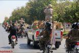 رژه هفته دفاع مقدس در نجف آباد+ تصاویر