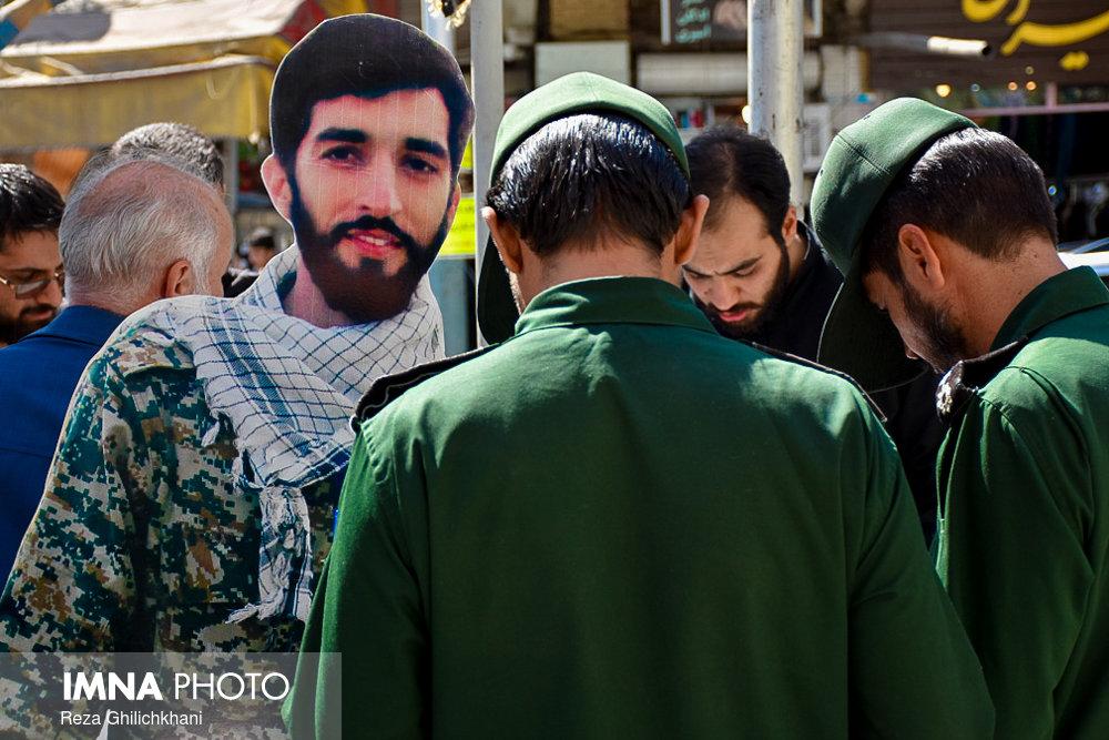 سالگرد تدفین شهید حججی در نجف آباد+تصاویر سالگرد تدفین شهید حججی در نجف آباد+تصاویر سالگرد تدفین شهید حججی در نجف آباد+تصاویر                                           9