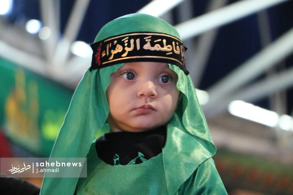 مراسم شیرخوارگان حسینی نجف آباد+تصاویر