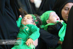 مراسم شیرخوارگان حسینی نجف آباد+ تصاویر                                                 14 300x200