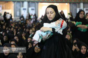 مراسم شیرخوارگان حسینی نجف آباد+ تصاویر                                                 36 300x200