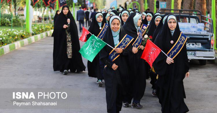 افتتاحیه راهیان نور از کنار مزار شهید حججی+ تصاویر و فیلم