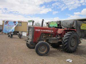 تجمع اعتراضی کشاورزان در نجف آباد+ تصاویر                                                          4 300x225