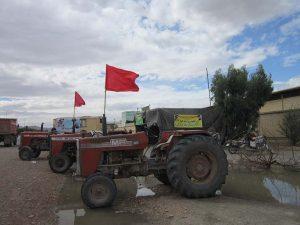 تجمع اعتراضی کشاورزان در نجف آباد+ تصاویر                                                          5 300x225