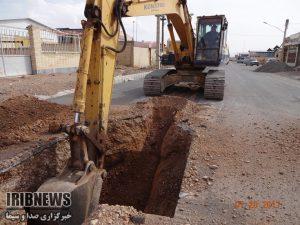 فاضلاب تکمیل تکمیل نزدیک به نیمی از شبکه فاضلاب نجف آباد                                                                      7 300x225