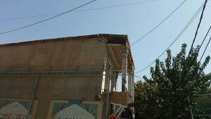 حسینیه ارشاد نجف آباد حسینیه ای که جان مردم نجف آباد را تهدید می کند+تصاویر حسینیه ای که جان مردم نجف آباد را تهدید می کند+تصاویر                                                       2 300x169