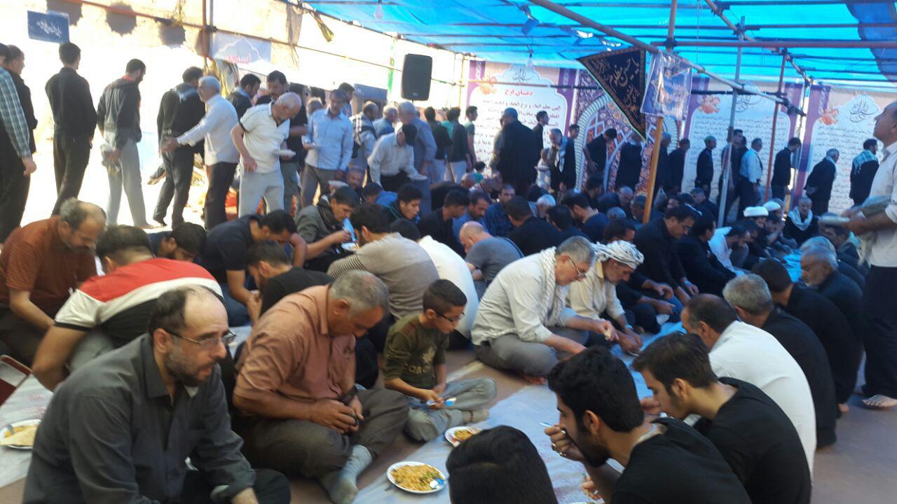 موکب نجف آباد در کربلا+تصاویر