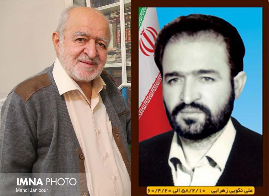 درگذشت اولین فرماندار نجف آباد+تصاویر