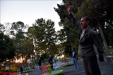 ورزش صبحگاهی در نجف آباد+تصاویر