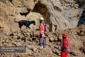 تمرین سگ های زنده یاب ایرانی و آلمانی در محدوده معدن سورمه نجف آباد مانور سگ های زنده یاب آلمانی در نجف آباد+تصاویر مانور سگ های زنده یاب آلمانی در نجف آباد+تصاویر                                                                     40 300x200