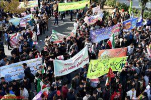 راهپیمایی ۱۳آبان در نجف آباد+تصاویر راهپیمایی ۱۳آبان در نجف آباد+تصاویر                                                      10 300x200