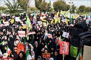 راهپیمایی ۱۳آبان در نجف آباد+تصاویر راهپیمایی ۱۳آبان در نجف آباد+تصاویر                                                      17 300x200