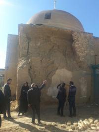 مرمت ۲۵۰میلیون تومانی مسجد جامع جوزدان