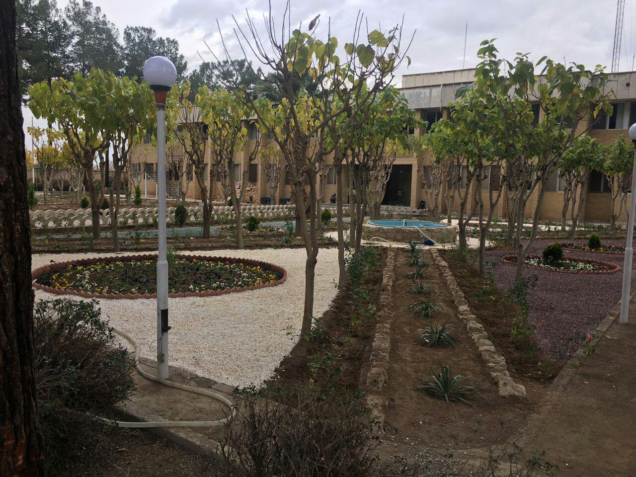 بهره برداری از ساختمان درمانگاه کاشی اصفهان + فیلم