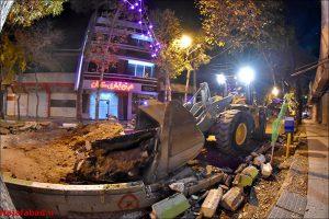 بهسازی بازار نجف آباد قطع شبانه درختان نجف آباد قطع شبانه درختان نجف آباد                                         10 300x200