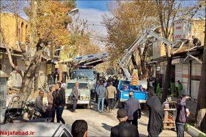 بهسازی بازار نجف آباد قلب بازار نجف آباد تکان خورد+تصاویر قلب بازار نجف آباد تکان خورد+تصاویر                                         11 300x200