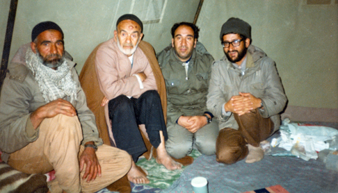 پاچه های خیس/ داستانی از حاج علی منتظری