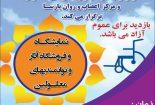 نمایشگاه توانمندی های معلولان نجف آباد+ فیلم