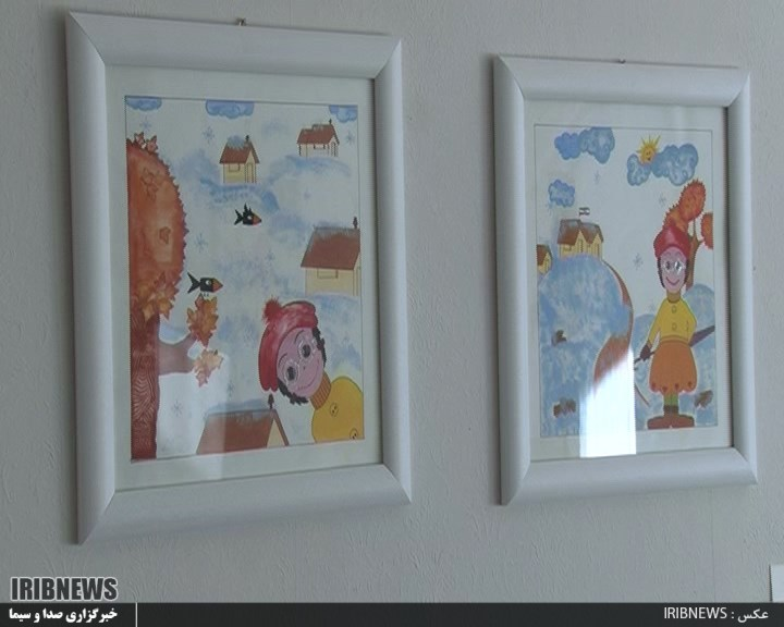 نمایشگاه نقاشی پیله تا پرواز+تصاویر