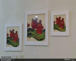 نمایشگاه نقاشی نمایشگاه نقاشی پیله تا پرواز+تصاویر نمایشگاه نقاشی پیله تا پرواز+تصاویر                             6 300x240