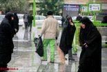 بارش ۲۵ میلیمتری باران در نجف آباد