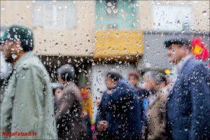 باران باران در نجف آباد+تصاویر باران در نجف آباد+تصاویر                                          8 300x200