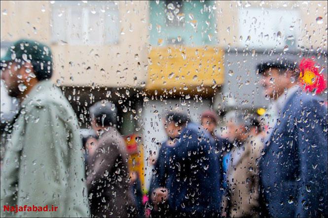 باران روز بارانی نجف آباد+تصاویر روز بارانی نجف آباد+تصاویر                                          8