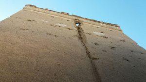 خطر تخریب؛ بیخ گوش برج های صفا+ تصاویر خطر تخریب؛ بیخ گوش برج های صفا+ تصاویر                                          3 300x169