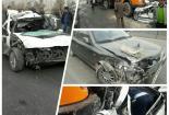 تصادف زنجیرهای شدید در کمربندی نجفآباد+ تصویر تصادف زنجیرهای شدید در کمربندی نجفآباد+ تصویر تصادف زنجیرهای شدید در کمربندی نجفآباد+ تصویر            155x105
