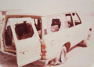 خودروی شهید احمد حجتی عبدالحسین رجایی و احمد معین شهدایی که فقط تصویر پیکرشان برگشت+تصاویر شهدایی که فقط تصویر پیکرشان برگشت+تصاویر                                             19 300x215