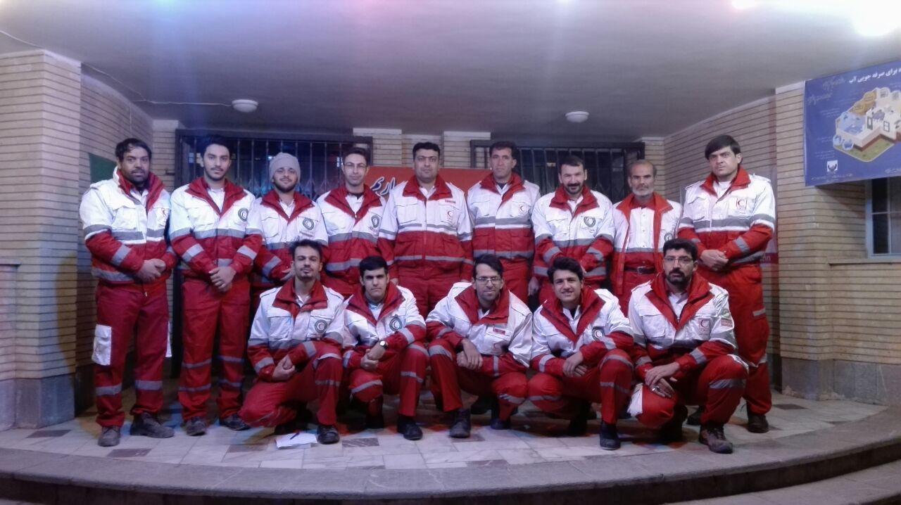 مانور ساعت صفر در هلال احمر نجف آباد+تصاویر