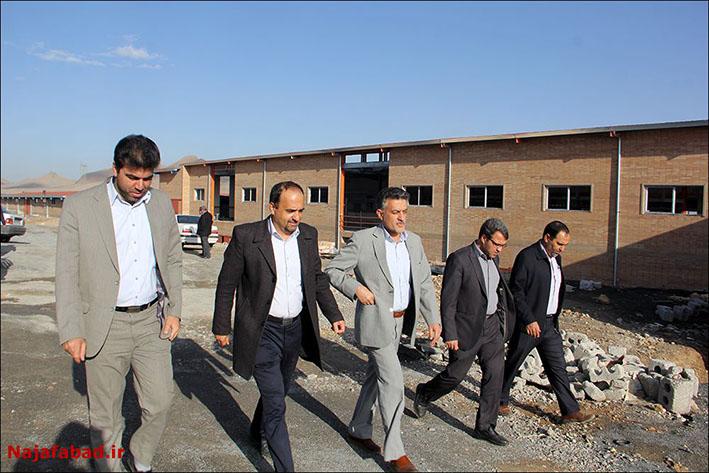 آخرین وضعیت کشتارگاه جدید نجف آباد+تصاویر