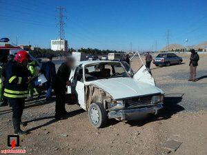 تصادف در نجف آباد ۶ مجروح در تصادف کمربندی نجف آباد ۶ مجروح در تصادف کمربندی نجف آباد            4 300x225