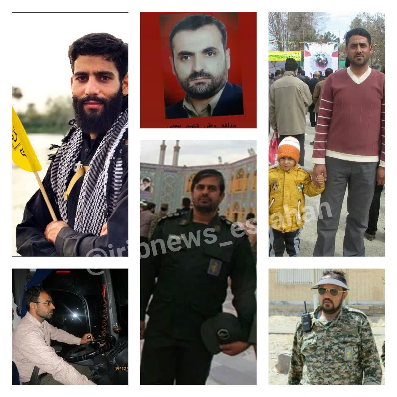 شهادت نیروی لشکر ۸نجف در انفجار تروریستی زاهدان+ تصاویر تمام شهدا