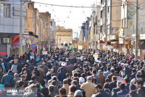 راهپیمایی ۲۲بهمن در نجف آباد